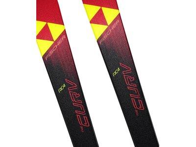 """FISCHER Kinder Ski """"The Curv Jr."""" mit Bindung """"FJ7 AC Rail"""" Rot"""