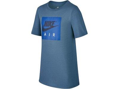"NIKE Jungen Baskettballshirt ""NSW Tee Air Logo"" Blau"