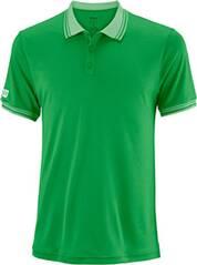 WILSON Herren Tennisshirt Team Polo Kurzarm