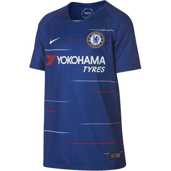 NIKE Kinder Fußballtrikot Breathe Chelsea FC Home Stadium Kurzarm