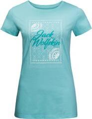 """JACKWOLFSKIN Damen Outdoor-Shirt """"Sea Breeze T Women"""" Kurzarm"""