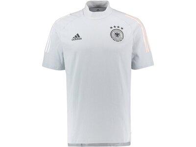 """ADIDAS Herren Shirt """"DFB Tee"""" Silber"""