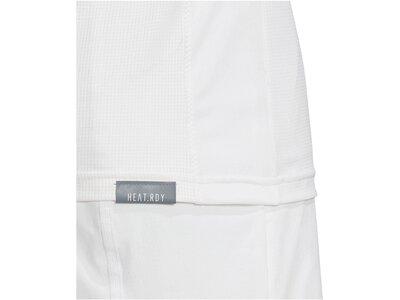 "ADIDAS Herren Tennisshirt ""Freelift Tee Heat.Rdry"" Grau"