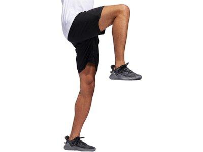"ADIDAS Herren Trainingsshorts ""4KRFT Graphic Woven 10-Inch Short"" Braun"