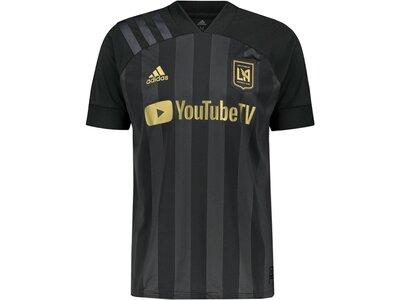 "ADIDAS Herren Fußballtrikot ""Los Angeles FC Home Saison 2020/21"" Replica Schwarz"