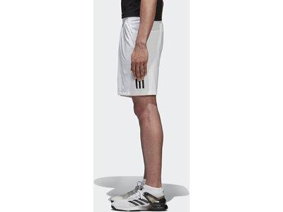 ADIDAS Herren 3-Streifen Club Shorts Weiß