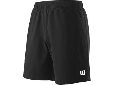 WILSON Herren Tennisshorts Team 8 Schwarz