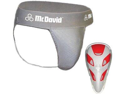 MCDAVID Herren Suspensorium HEXMESH mit Flex-Cup Ultralite Schwarz