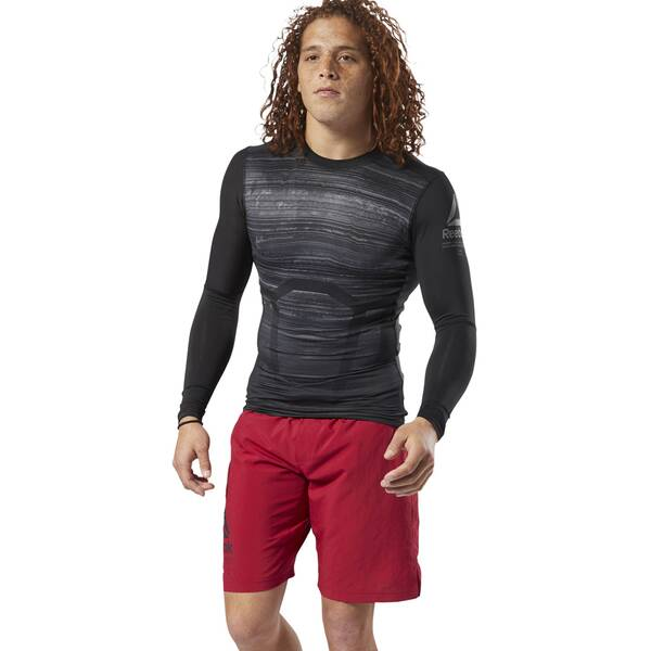 REEBOK Herren ACTIVCHILL Long-Sleeve Compression Shirt
