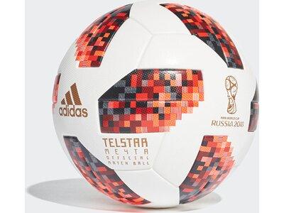 ADIDAS Herren FIFA Fussball-Weltmeisterschaft Knockout Offizieller Spielball Weiß