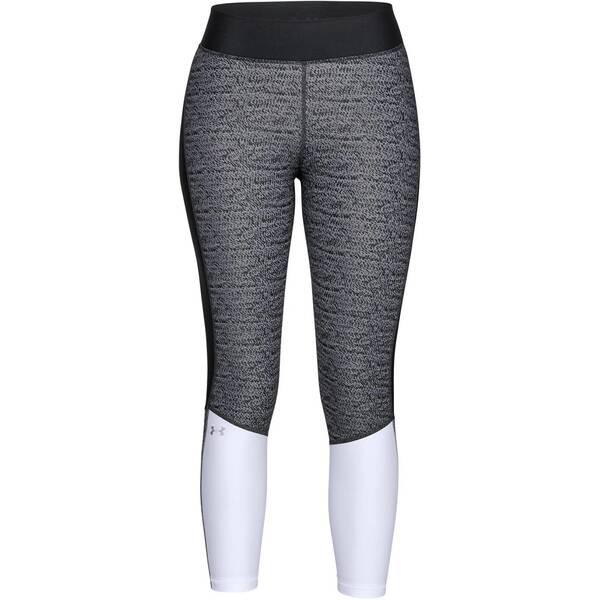 UNDERARMOUR Damen Trainingstights HeatGear® Armour Jacquard Ankle Crop