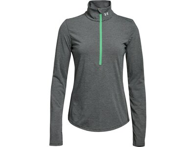 UNDERARMOUR Damen Laufshirt Langarm Grün