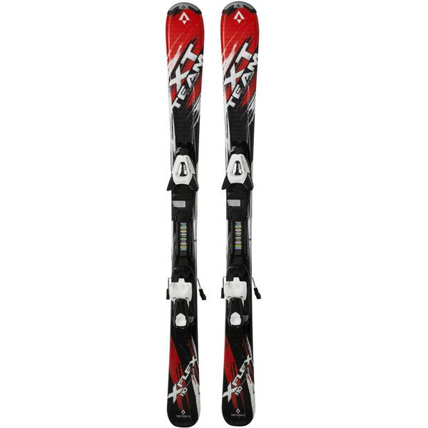 TECNOPRO Kinder Ski XT Team ET Junior inkl. Bindung ETC45 / ETL 75 Schwarz