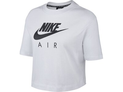"NIKE Damen T-Shirt ""Air"" Schwarz"