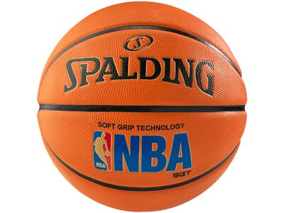 "SPALDING Basketball ""NBA Logo Man SGT"" Orange"