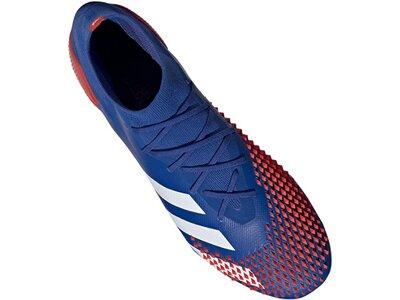 ADIDAS Fußball - Schuhe - Nocken Predator Uniforia 20.1 FG Blau