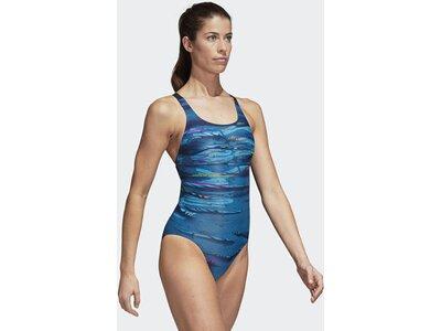 ADIDAS Damen Parley Badeanzug Blau