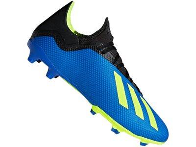 ADIDAS Fußball - Schuhe - Nocken X Virtuso 18.3 FG Blau
