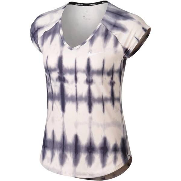 NIKE Damen Trainingsshirt Pure Kurzarm