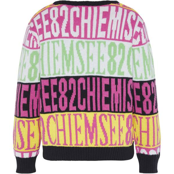 CHIEMSEE Pullover mit CHIEMSEE Alloverprint