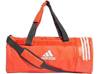 "ADIDAS Sporttasche ""Convertible 3-Stripes Duffle Bag M"" Weiß"