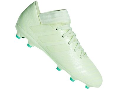ADIDAS Fußball - Schuhe Kinder - Nocken NEMEZIZ Messi 17.3 FG J Kids Grün