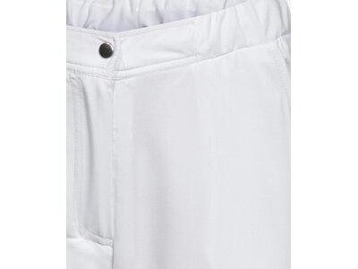 LIMITEDSPORTS Damen Tennis Hose Classic Stretch Weiß