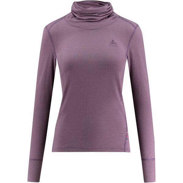 "ODLO Damen Funktionsshirt ""SUW Natural Turtleneck Performance Warm"" Langarm"