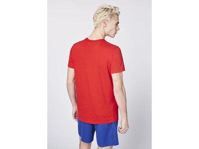 CHIEMSEE T-Shirt mit PlusMinus Frontprint - GOTS zertifiziert Rot