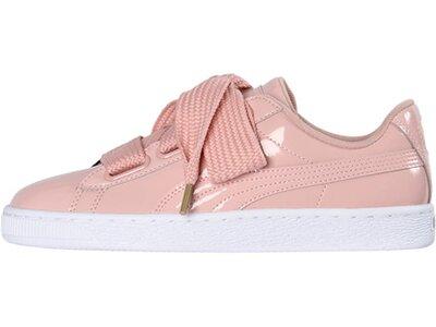 "PUMA Damen Sneaker ""Basket Heart Patent"" Pink"