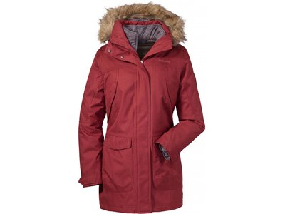 SCHÖFFEL Damen Doppeljacke 3in1 Jacket Genova1 Rot