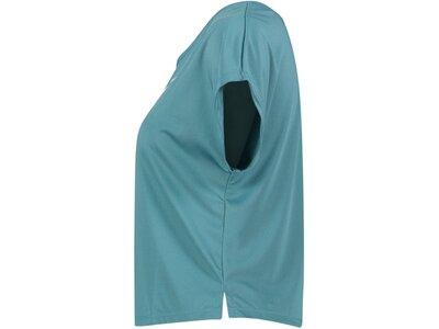 NIKE Damen Laufshirt Kurzarm Blau