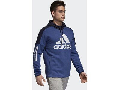 ADIDAS Herren Sport ID Logo Hoodie Blau