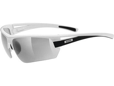 """UVEX Sportbrille / Sonnenbrille """"Gravic"""" Weiß"""