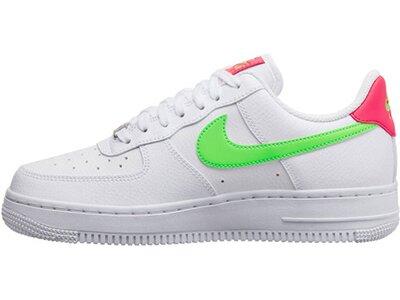 """NIKE Damen Sneakers """"Nike Air Force 1 07"""" Silber"""