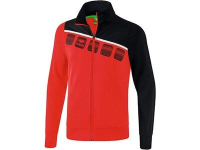 ERIMA Fußball - Teamsport Textil - Jacken 5-C Polyesterjacke Kids Rot