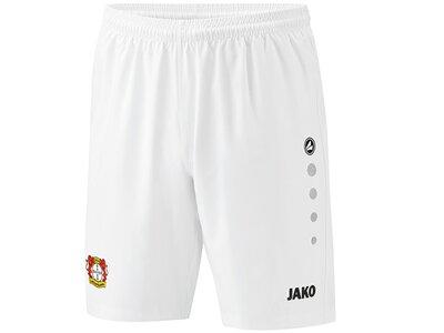 JAKO Herren Bayer 04 Leverkusen Short Ausweich Weiß