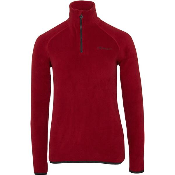 CHIEMSEE Fleece Pullover Slim Fit mit Reißverschluss