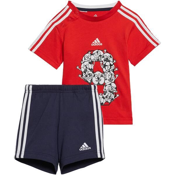 "ADIDAS Kinder Trainingsanzug ""I Lil 3 Stripes Sport Performance Set"""
