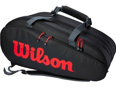 """WILSON Tennistasche """"Tour 3 Comp Clash"""" Schwarz"""