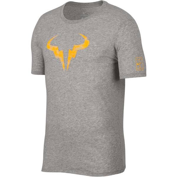 NIKE Herren Tennisshirt Dry Rafa Kurzarm | Sportbekleidung > Sportshirts > Tennisshirts | Orange | NIKE
