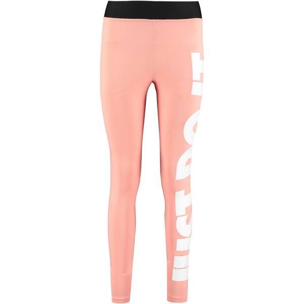 Hosen - NIKE Damen Leggings Leg A See › Pink  - Onlineshop Intersport