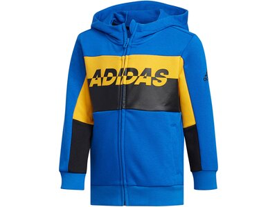 ADIDAS Jungen Sweatjacke Blau