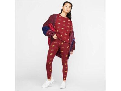 NIKE Lifestyle - Textilien - Hosen lang AOP Shine Leggings Damen Rot