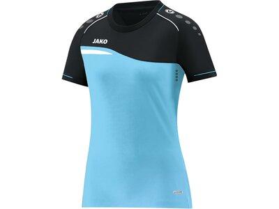 JAKO Damen T-Shirt Competition 2.0 Blau