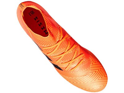 ADIDAS Fußball - Schuhe - Nocken NEMEZIZ Virtuso 18.1 FG Orange
