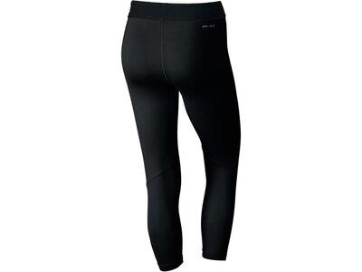 NIKE Damen 3/4 Fitnesstights / Trainingshose Schwarz