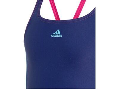 ADIDAS Damen Colorblock Badeanzug Blau