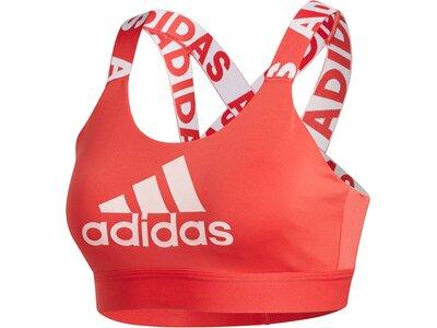 """ADIDAS Damen Sport BH """"Dont Rest"""" Rot"""