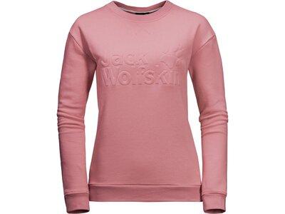 "Damen Sweatshirt ""Logo W"" Pink"